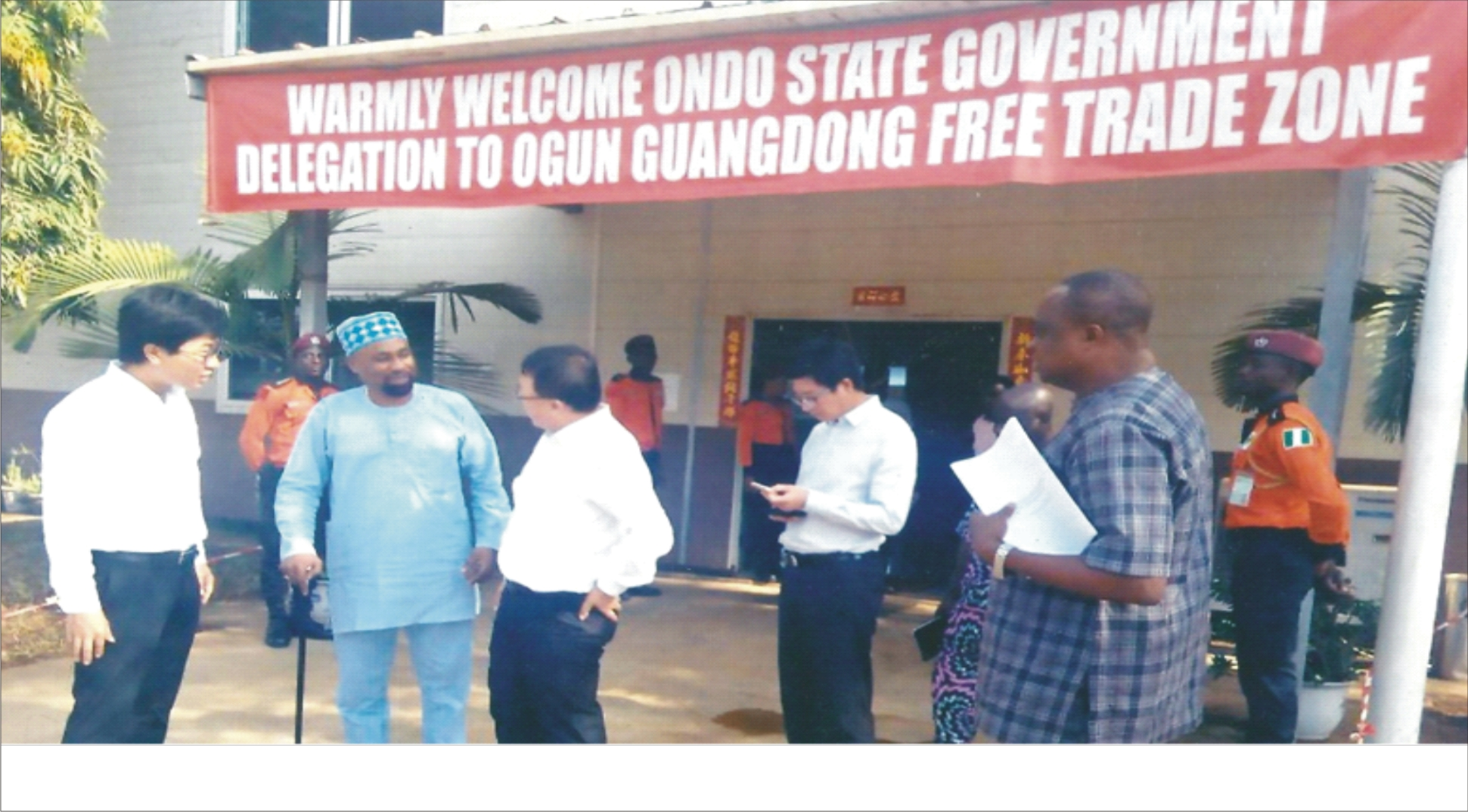 Ondo  establishes GUANGDONG Free Trade Zone