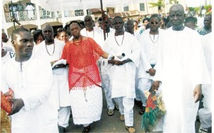 Igogo Festival: When an Olowo must dance nine times in the market square