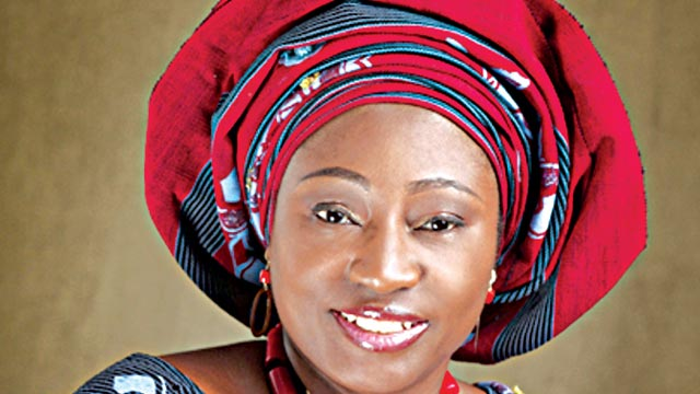 Fayemi's wife frowns on violence against women