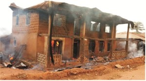 Panic over ritual killings in Akotogbo, suspect's house, car set ablaze