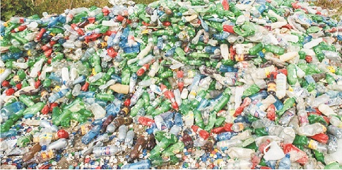 Intensifying campaign against plastic pollution