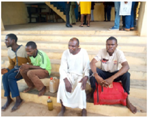 Prophet, brother in-law arrested over pants theft