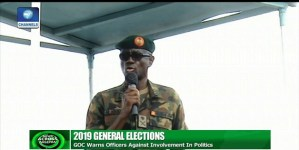 'Military has no business in politics'