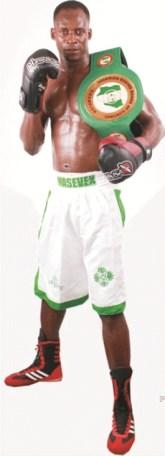 Ekiti born National Boxing Champion,challenges contenders