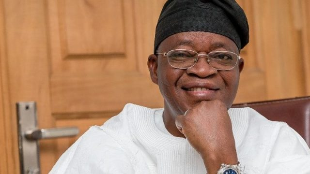 Nothing 'll stop  me from developing  Osun- Oyetola