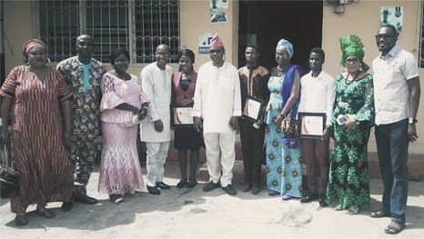 Group gives scholarshipsto indigent students