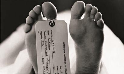 Illegal activities in mortuaries