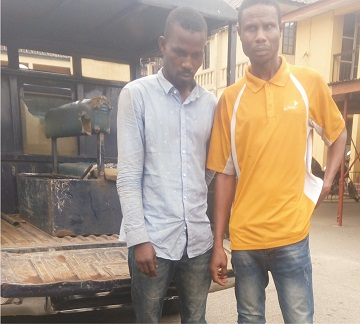 Serial bank customers' robbers arrested