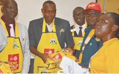 Rotary Club supports polio eradication