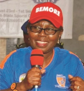 Sports take youths away from social vices- Mrs Akeredolu