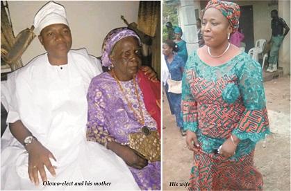 How the Olowo-elect emerged