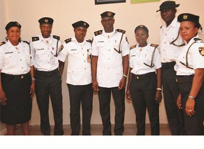 VIO decorates new officers