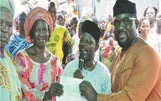 Oladapo empowers Ondo women