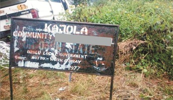 Fresh crisis erupts over Araromi-Obu/Ikale land dispute