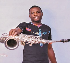 Saxophonist charges upcoming artistes on dedication