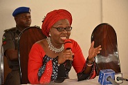 Mrs. Akeredolu moves to protect girls against rapists