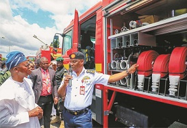 Fire disaster: FG lauded for establishing zonal headquarters in Osun