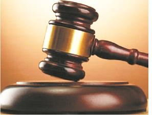 Man arraigned over felony