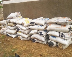 Man arrested with 798Kg Indianhemp in Uso.