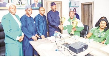 Minister receives World Cup Para-lifting Champions, assures of support