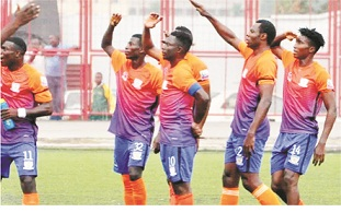 NPFL WK 19: Sunshine Stars hammer Ifeanyi Ubah