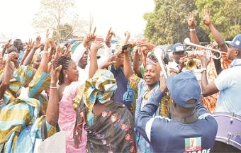 Buhari's historic visit to Ondo State