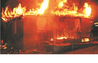 Fire destroys Ekamarun Secondary School
