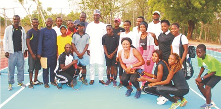 Nasarawa Governor promises to invest in Tennis