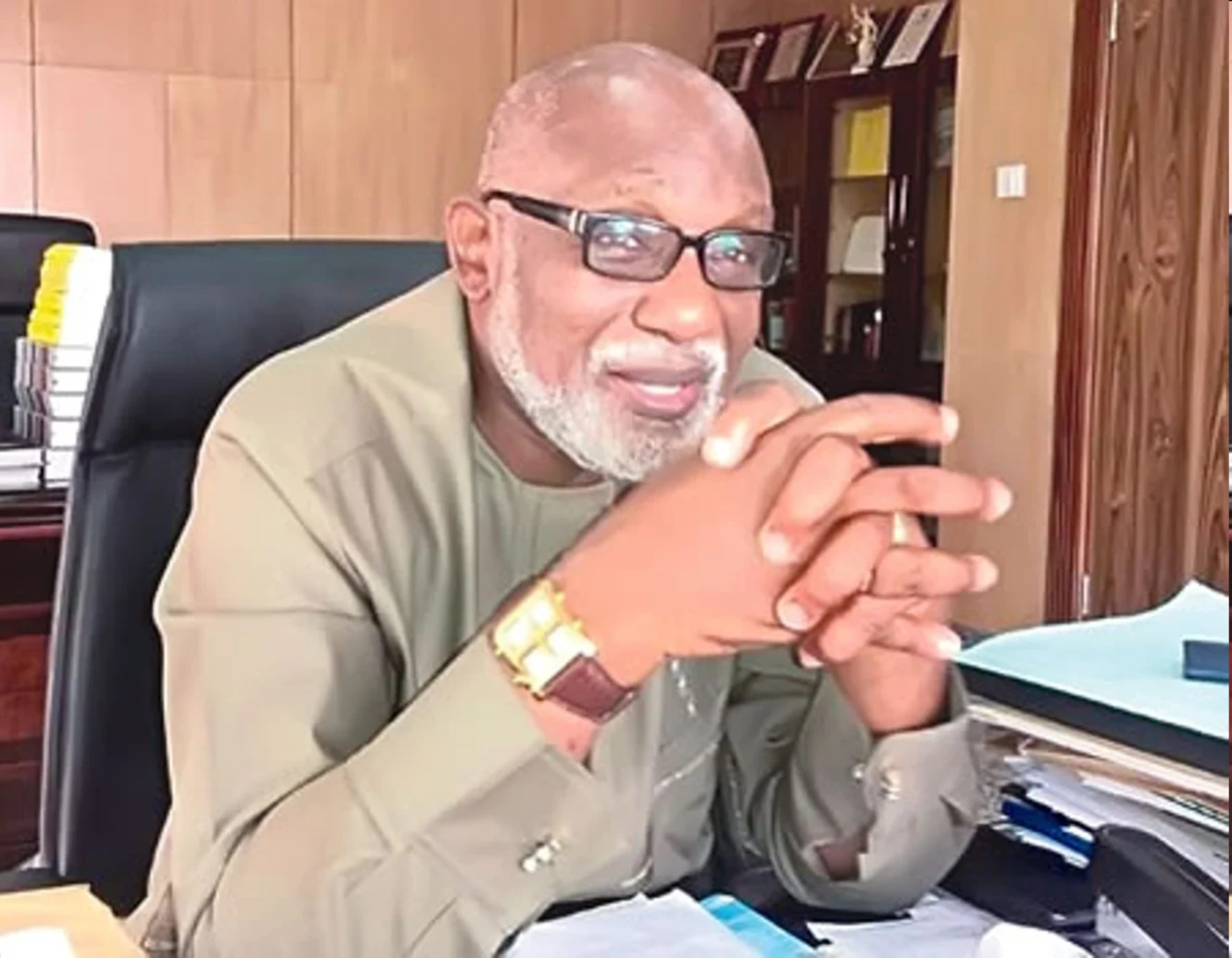 Count me out of impeachment  plot  against Agboola – Akeredolu
