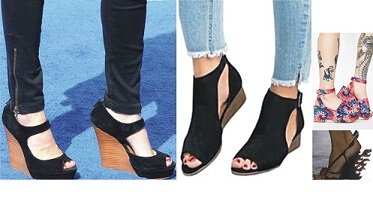 Rock your wedge sandal