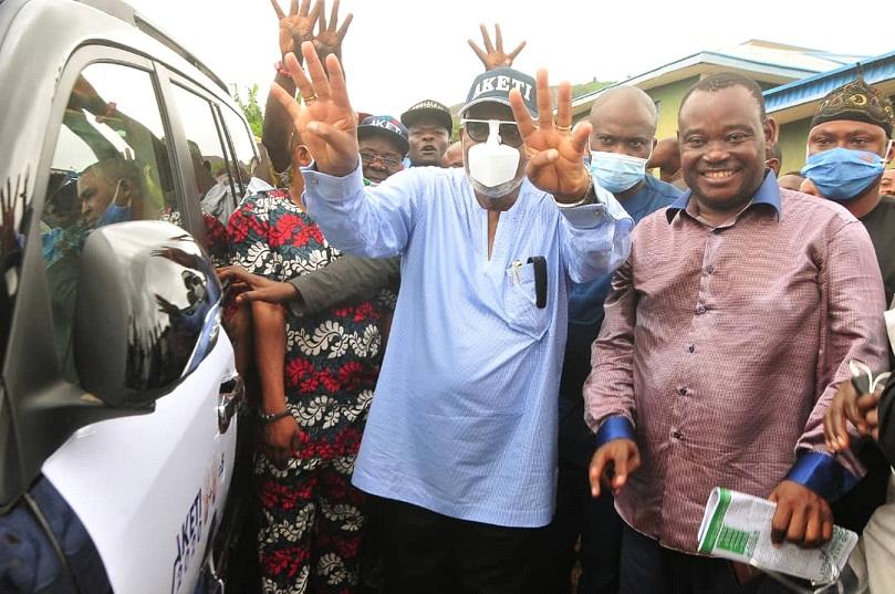 Fear not, Akeredolu tells Akoko residents