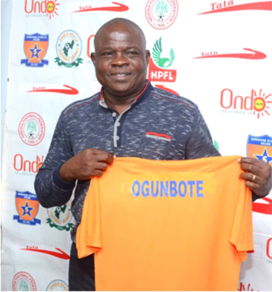 Beautiful football, my philosophy —Ogunbote