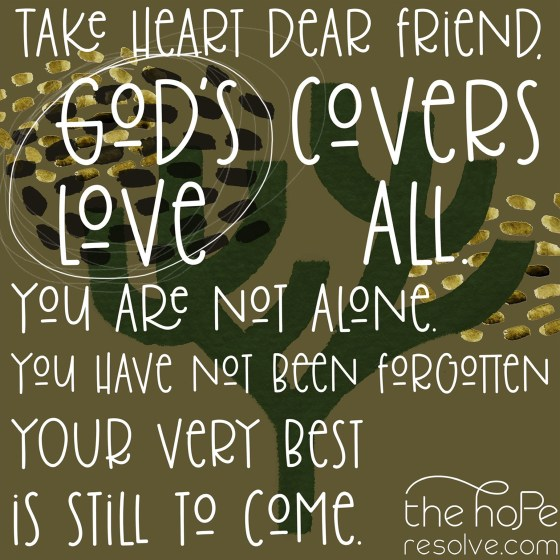 God's Love Covers All by The Hope Resolve