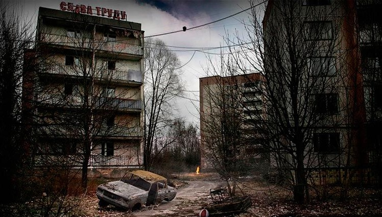 Pripyat, a city of 49,000 founded in 1970 to house workers from Chernobyl.