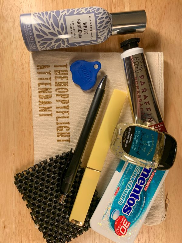 inflight essentials kit