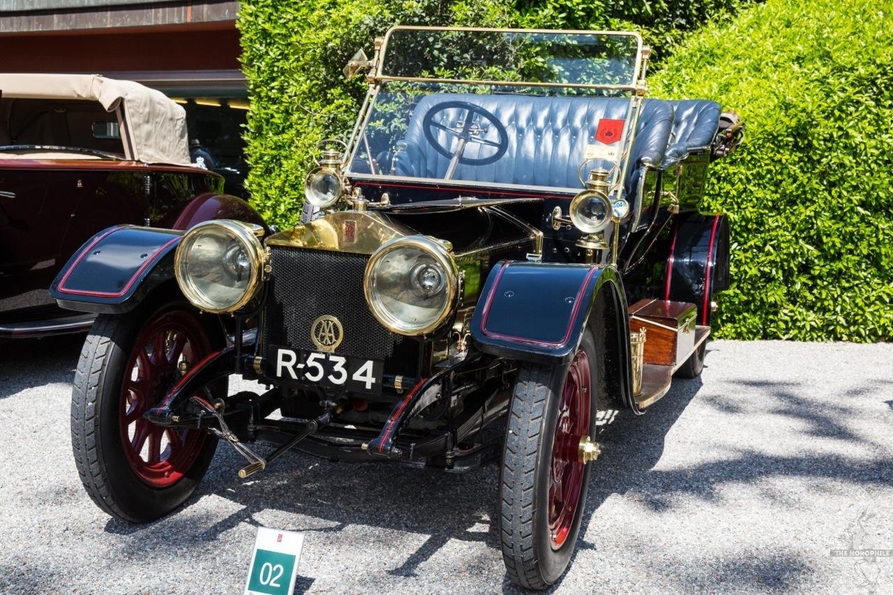 908 Rolls Royce Silver Ghost Concorso d'Eleganza Villa d'Este 2014