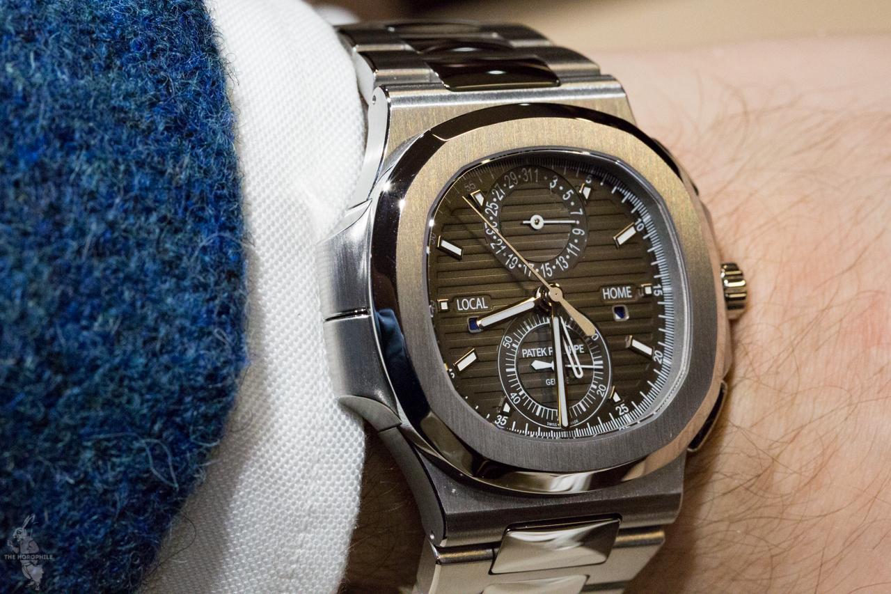 58fe146b1db7c Patek Philippe Nautilus Travel Time Chronograph 5990/1A - The Horophile