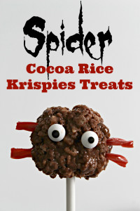 Spider-Rice-Krispies-Treats