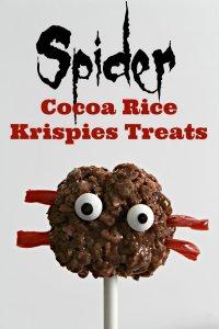 Spider-Rice-Krispies-Treats