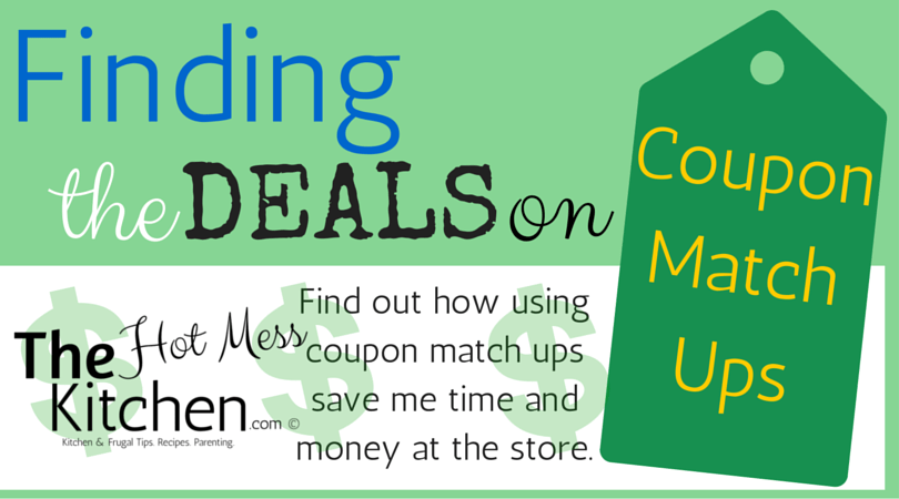 Finding the Deals on Coupons Match Ups