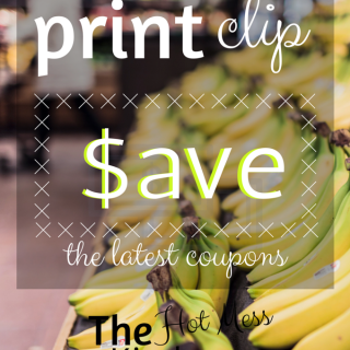 print. clip. save. - printable coupons