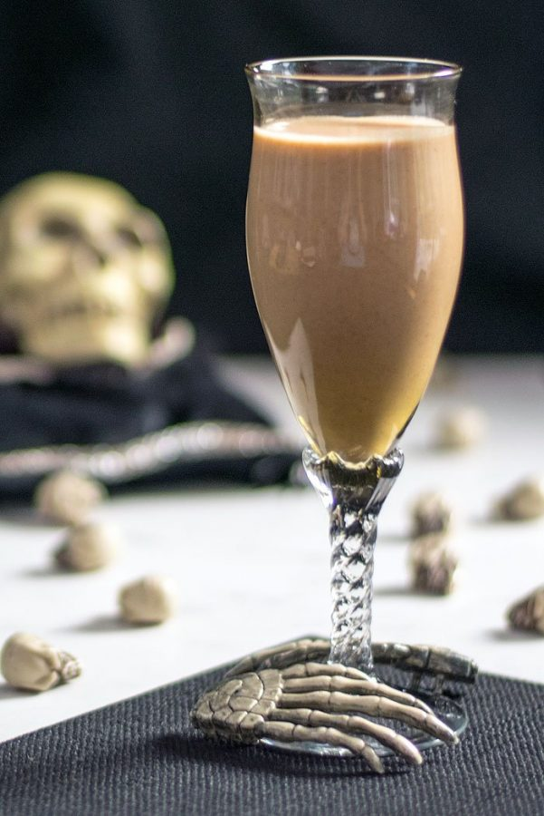 Cackling Caramel Pecan Bourbon Liqueur or Coffee Creamer - The Ghoulish Gourmet