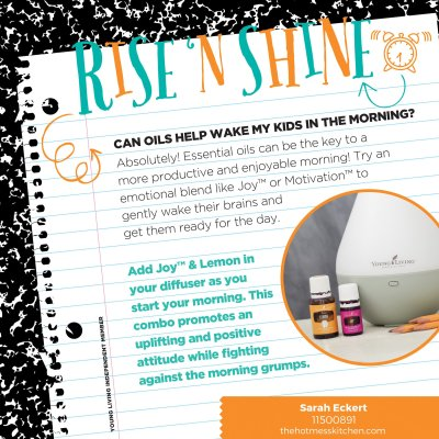 Back to School Survival Guide – Rise 'N Shine Diffuser Blend