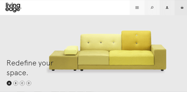furniture web design inspiration