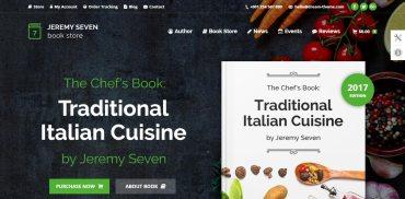 recipe web design inspiration