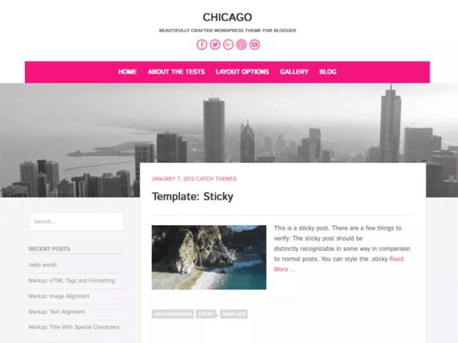 latest free wordpress blog themes