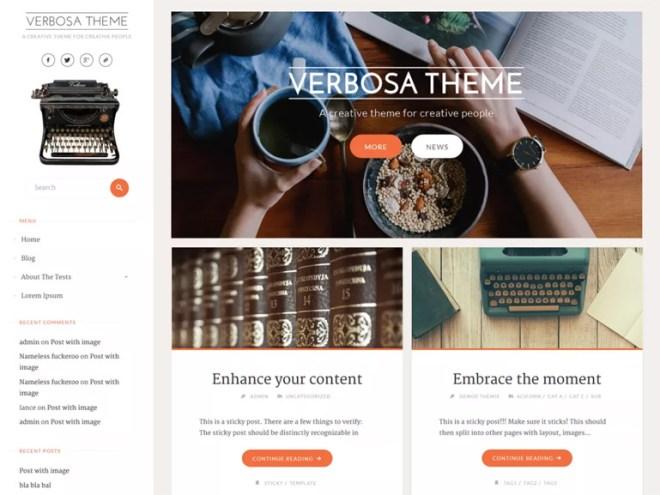 top wordpress blog themes