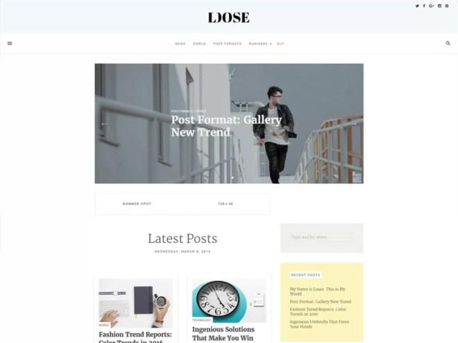 cool wordpress blog themes