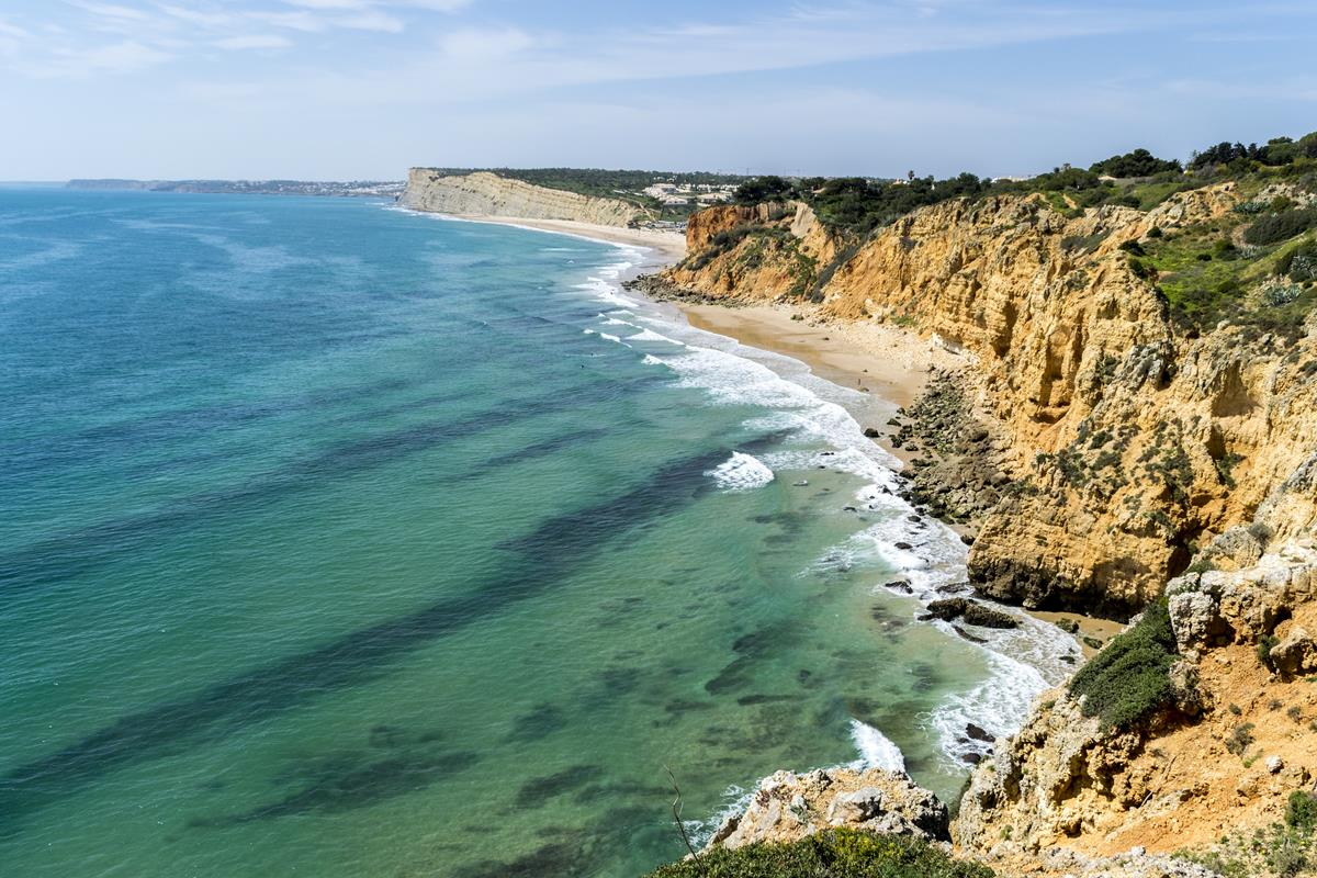 Hiking in the Algarve: Seaside in Lagos