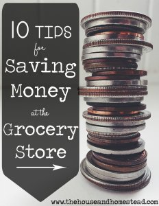 10 Tips to Help You Save Money at the Grocery Store